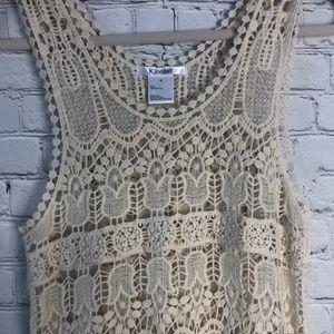 K. Jordan Swim - K.Jordan Crochet Swim Cover Up